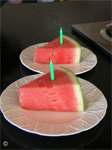"Hal's Recipe for ""Watermelon Cake"" Photo by B.J. Stowers © 2009"
